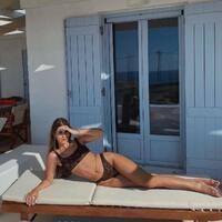 On the Islands 🤎 Our Fave @soakr13 #sunsetgogirl #bikini #bikinilife